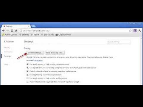 How To Disable Or Enable Pop Up Blocker In Google Chrome