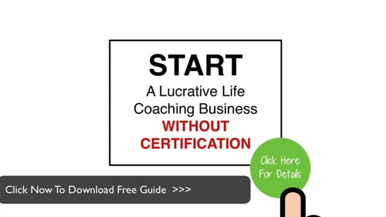 Become A Life Coach Fast Life Coaching Training No Certificate