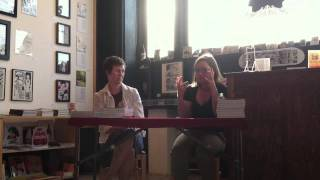 Megan Kelso & Nikki McClure at the Fantagraphics Bookstore, July 9, 2011