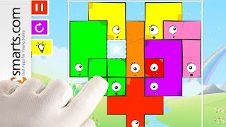 Free Online Puzzle Game for Kids: Snap the Shape (Spring Edition) - gameplay