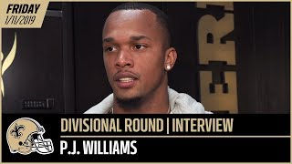 "P.J. Williams: ""Make Sure Those Open Windows Aren't There"" 