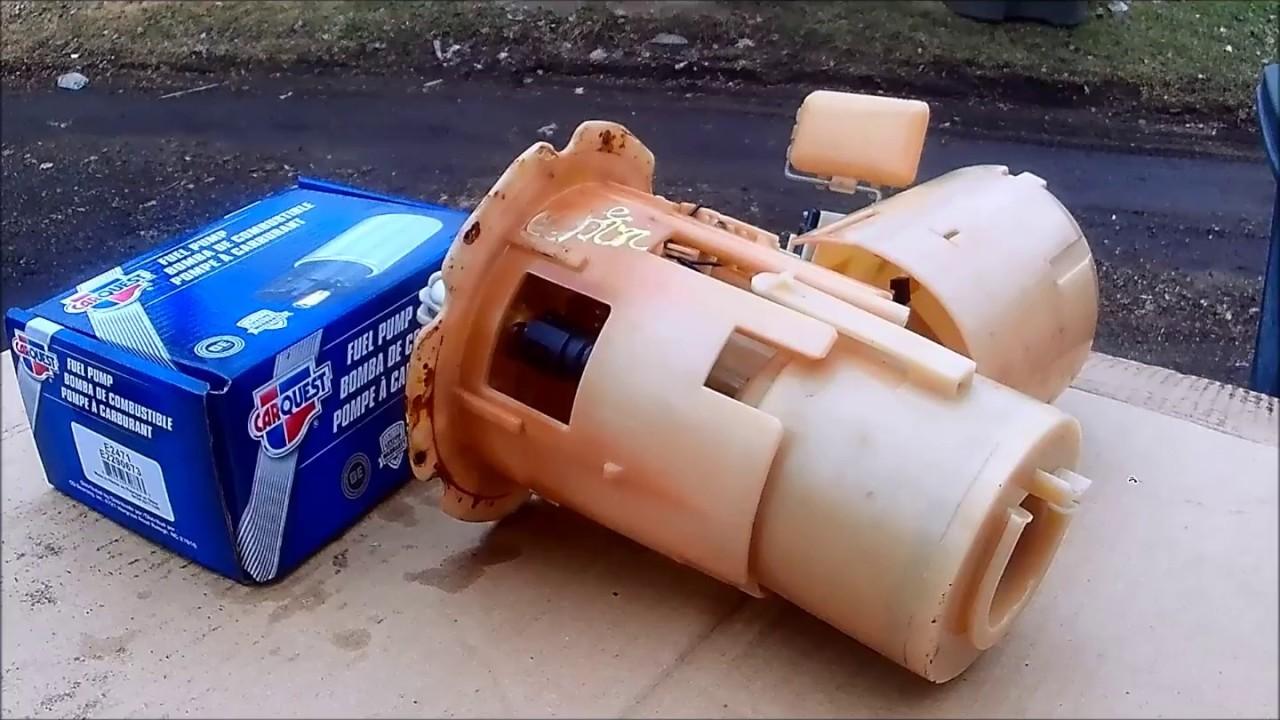 2006 nissan sentra fuel pump repair kit