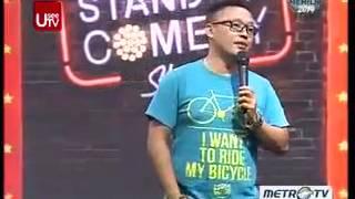 Budi Kusuma @ Stand Up Comedy Show MetroTV 4 Desember 2013