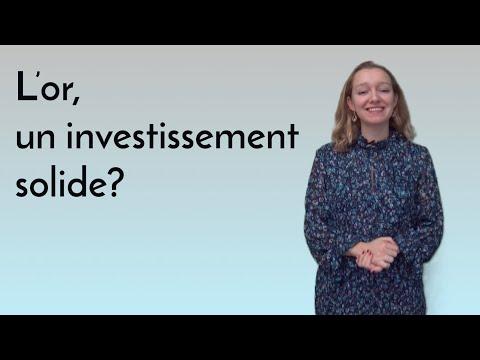 Comprendre la finance : l'or