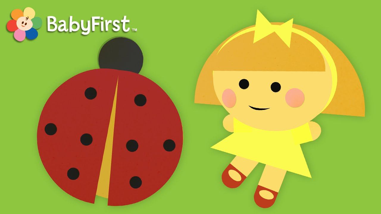 Ladybug | Learning Shapes for Toddlers | Shape A Majigs | BabyFirst ...