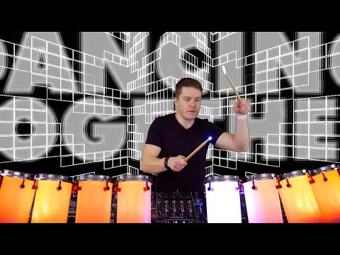 Sonic Snares remixing Fedde Le Le Grand with Traktor D2, Drums and Visuals (#VisualDJing Episode 2)
