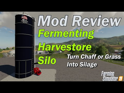 Mod Review - Harvestore Fermenting Silo - Grass or Chaff