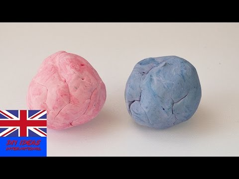 PLAY DOH ALTERNATIVE / Tutorial - How To Make Your Own Play Doh?