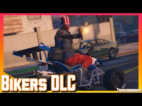 Biker DLC Is Here | Trolling | GTA V online Gameplay (PS4)