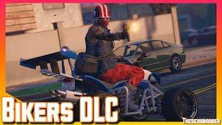 Biker DLC Is Here | Trolling | GTA V online Gameplay (PS4)