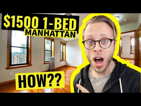 THIS $1,500 1-Bedroom is the CHEAPEST in Lower Manhattan NYC