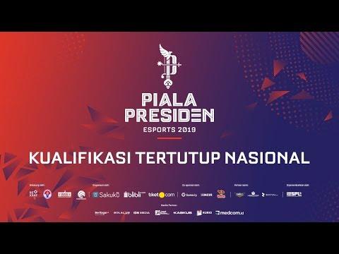 PIALA PRESIDEN ESPORTS 2019 - KUALIFIKASI TERTUTUP NASIONAL | RECCA vs EVOS