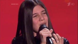WINNER of The Voice Kids RU 2015 Sabina — «Путь» Blind Audition | Голос Дети 2. Сабина Мустаева. СП
