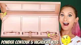 Kkw Beauty Powder Contour + Highlight Review