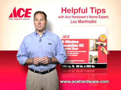 Helpful tips Window on window insulation kits - Ace Hardware