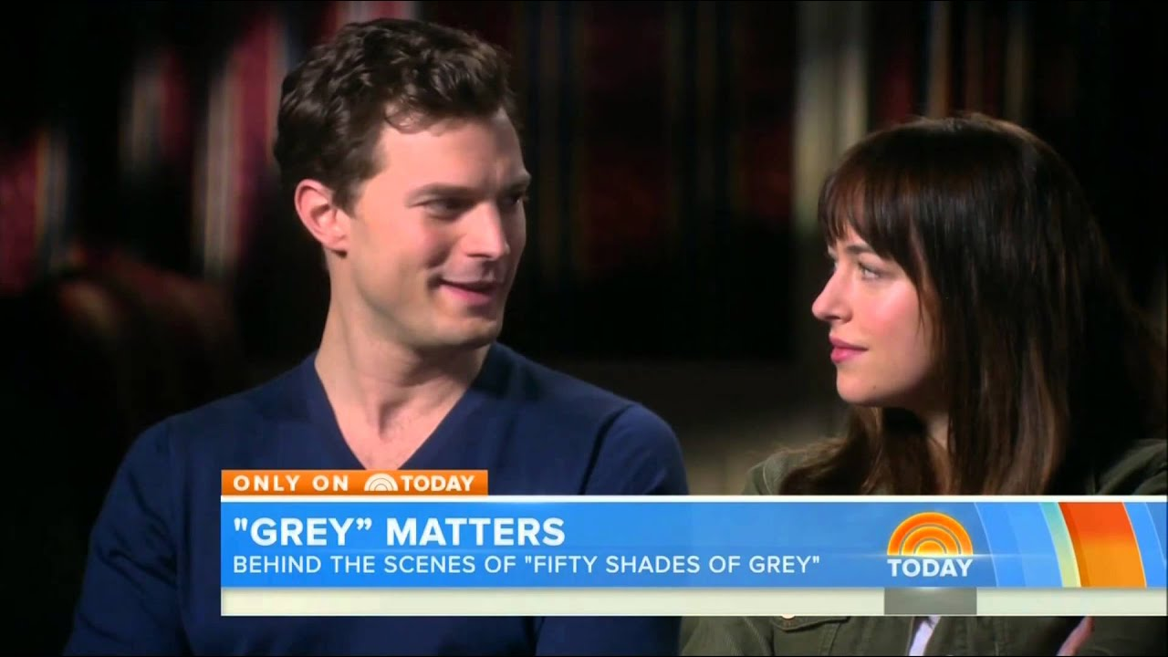 July, 25th, 2014 - NBC Today show takes us exclusively behind the Scenes of Fifty Shades Of Grey ...
