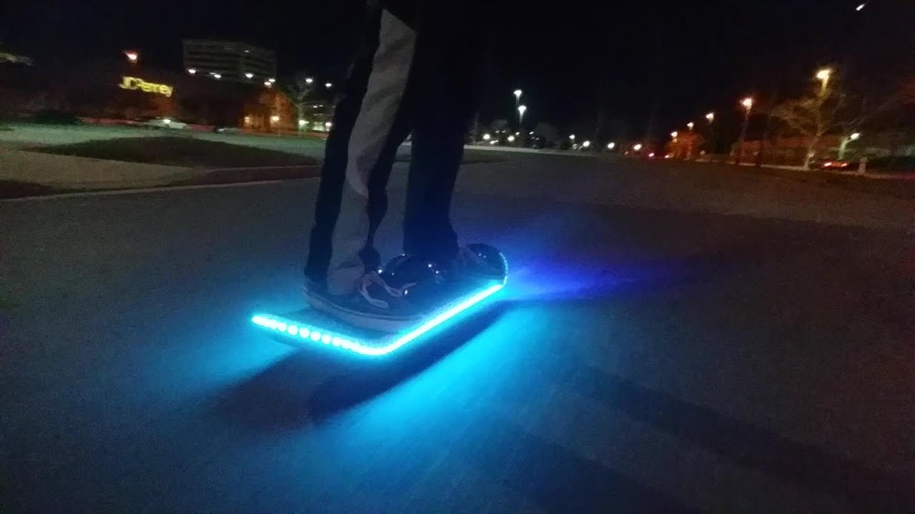 New 2016 Led Hoverboard One Wheel Hoverboard Doovi