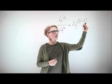 Как быстро найти степень числа