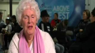 New Zealand's Got Talent 2012 Olivia Turner 91 Year Old Singer