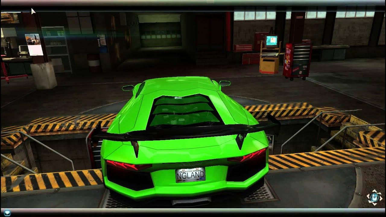 Need For Speed World Lamborghini Aventador Lp700 4