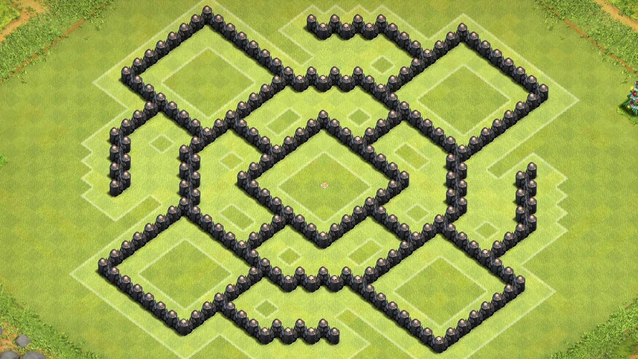 Coc th8 base design - Clash Of Clans Epic Town Hall 8 Farming Base Th8 Base Design Layout