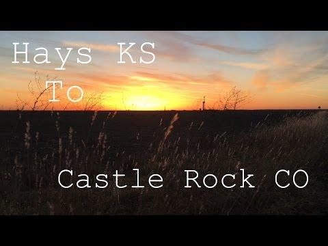 Hays KS. to Castle Rock CO.