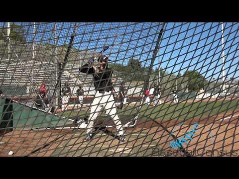 Keola Viloria OF University of Antelope Valley 2/19/21 Batting Practice