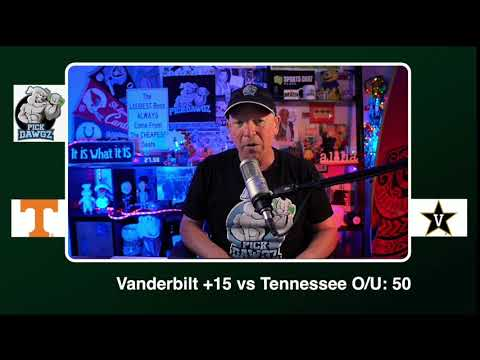 Vanderbilt vs Tennessee 12/12/20 Free College Football Picks and Predictions CFB Tips