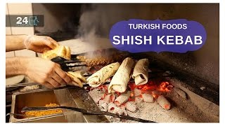 Istanbul Street Foods |Shish Kebap