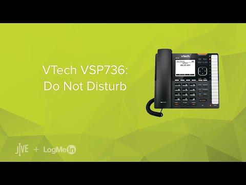 VTech VSP736: Do Not Disturb (DND)