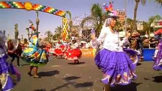 WACA WACA*RESIDENTES BOLIVIANOS*2014*CON LA FUERZA DEL SOL