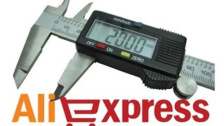 Электронный штангенциркуль (цифровой, металлический) из Китая. Aliexpress(, 2015-02-16T19:30:38.000Z)