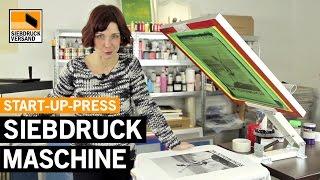 Erklärung - T-Shirt Siebdruck mit DIY-Siebdruckmaschine