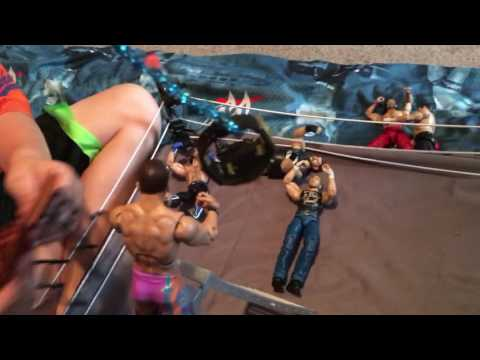 WWE Championship Ladder Match Figures Toys