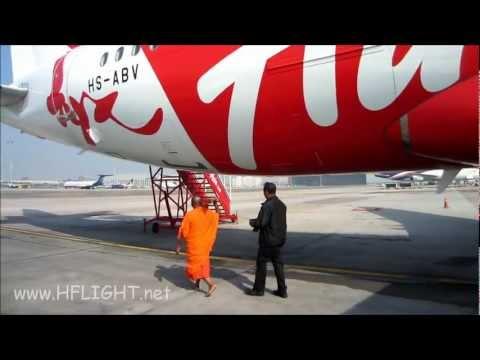 เจิม Airbus A320 ThaiAirAsia ลำที่ 22 HS-ABV ETOPS Anointment