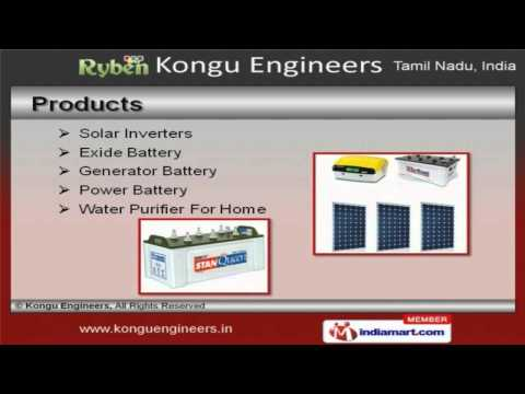 Power Products By Kongu Engineers, Chennai