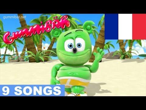 French Gummy Bear Songs TOUTES LES VIDÉOS Funny Bear Song Extravaganza