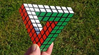 *IMPOSSIBLE* Penrose Triangle Puzzle by Tony Fisher (amazing optical illusion)