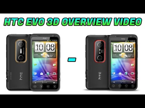 HTC Evo 3D Overview / Review