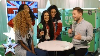 Josephine Lee and The Miss Treats chat exclusively in BGT's AO.com Green Room thumbnail