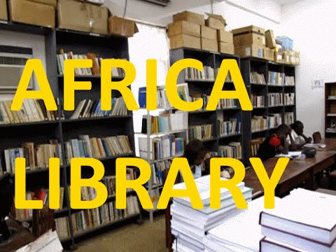 40,000 Students, Super Small Libraries of University of Lomé, Togo West Africa