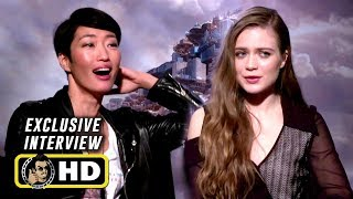 Hera Hilmar & Jihae Exclusive MORTAL ENGINES Interview