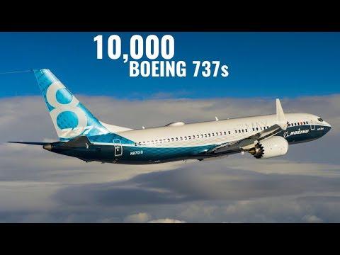 BOEING Break GUINNESS WORLD RECORDS for 737