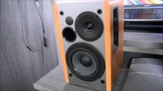 Unboxing / SoundReview EDIFIER R1280T 2.0