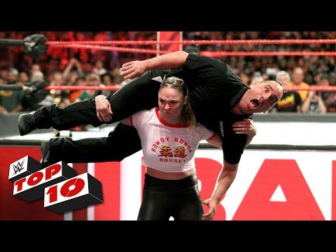 Top 10 Raw moments: WWE Top 10, October 15, 2018 thumbnail