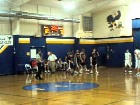 Kevin Kemp Lee Christian School Basketball 12/3/10 Part 2