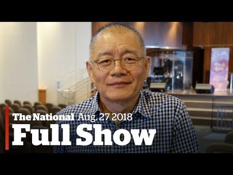The National for Sunday August 27th : Pastor Lim Speaks, Hurricane Flooding, Penicillin Allergy