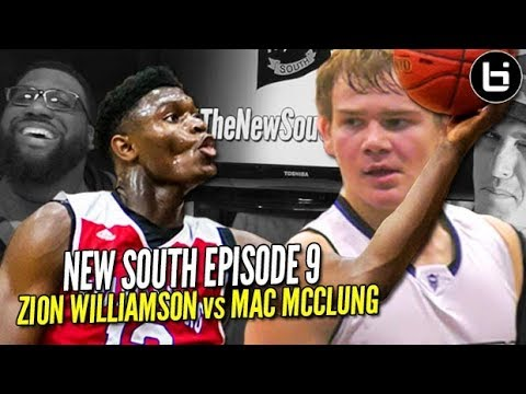 Zion Williamson vs Mac McClung Mixtape SUPREMACY + More! New South Podcast  Ep 9