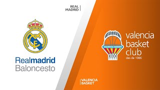 Real Madrid - Valencia Basket Highlights | Turkish Airlines EuroLeague, RS Round 2