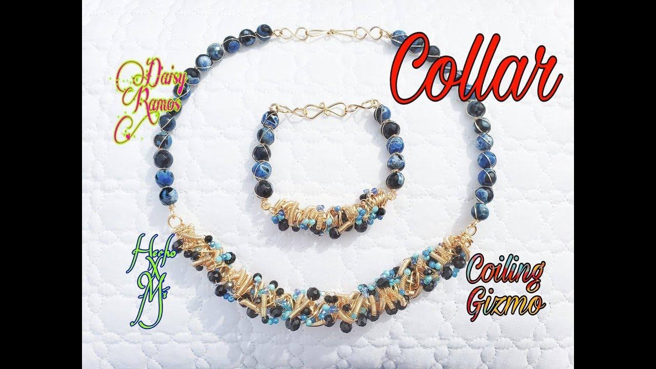 e2bb0400fc18 Collar con Coiling Gyzmo